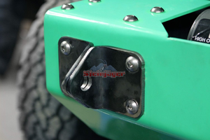 Custom Painted 3/4'' D-Ring Mounts - Altitude Jeep