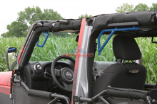 Custom Painted 2/4 Door JK Front & Rear Steel Grab Handles - Altitude Jeep