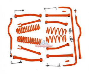 Custom Painted 4'' Non Adjustable Lift Kit for Jeep Wrangler JK - Altitude Jeep