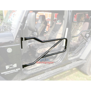 Custom Painted JK Front Steel Tube Doors - Altitude Jeep