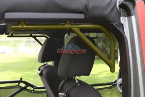 Custom Painted 2/4 Door JK Rear Steel Grab Handles - Altitude Jeep