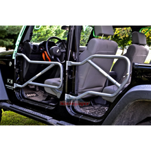 Custom Painted JK Front & Rear Steel Tube Doors - Altitude Jeep