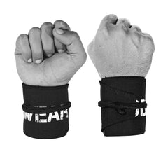 Cotton Strength Wrist Wraps to Support Wrist Health - 1 Size Fits All
