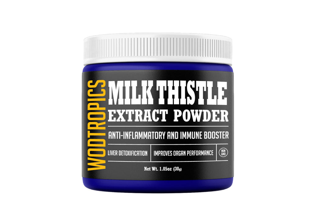 Milk Thistle 4:1 Extract Powder - 30 Servings