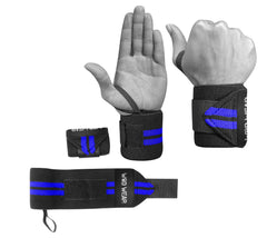 Wrist Wraps for Wrist Support and Weight Training - 18 Inch Pair