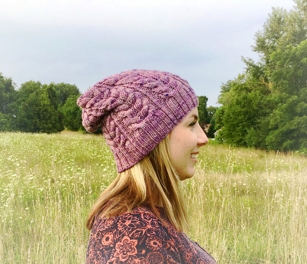 Purple slouchy
