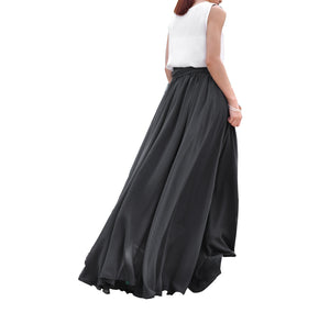 Dark Gray full length skirt