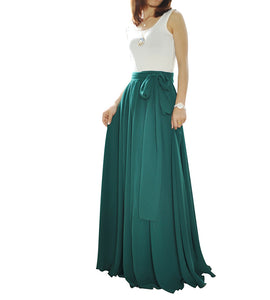 Jade Green long skirts