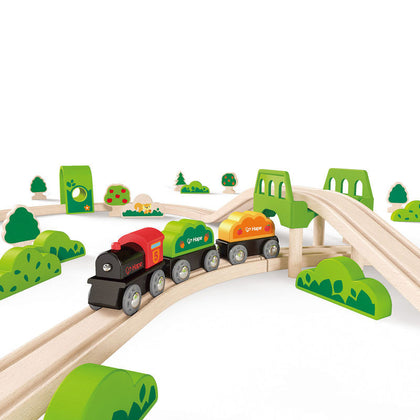 Hape Raill Wooden Toy Train Set