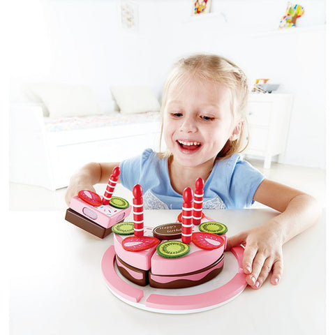 Hape Wooden Toy Birthday Cake