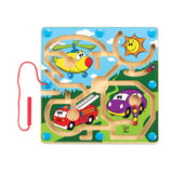 Hape - Mighty Motors Magnetic Marble Maze