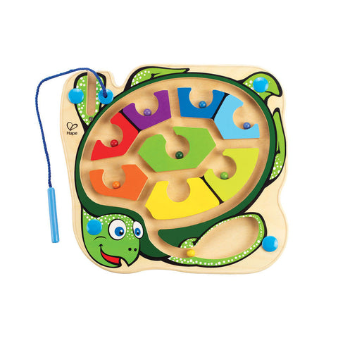 Hape - Colourback Sea Turtle™ Magnetic Marble Maze