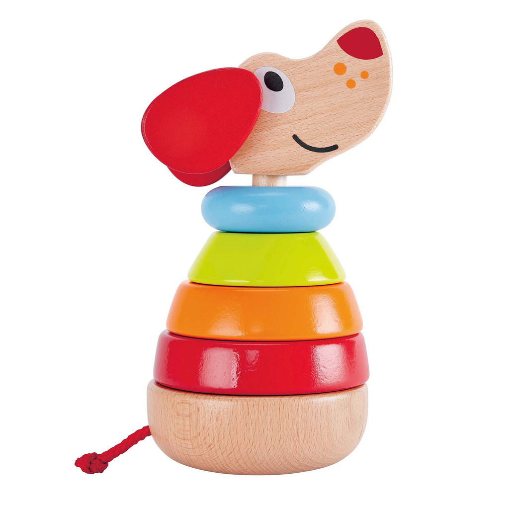Hape - Stacking Rainbow Dog