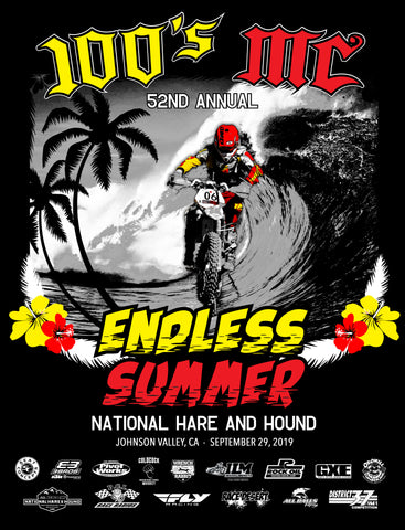 "100's MC Official 52nd Annual ""Endless Summer"" 2019 National Event Shirt - Final"