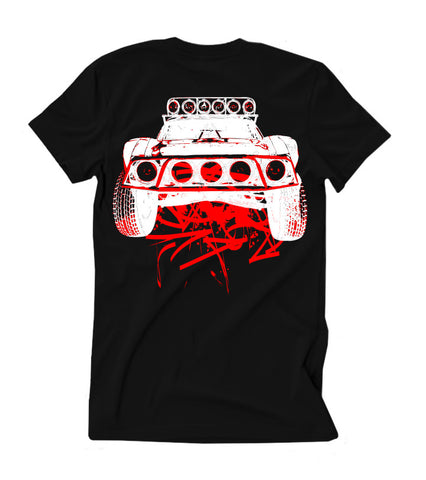 Kids Dirty Beast T-Shirt - Black w/ Red