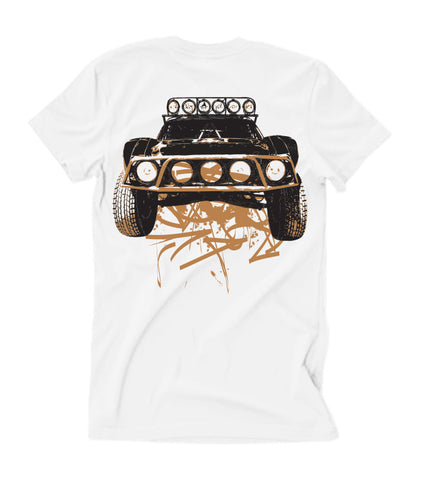 Mens Dirty Beast T-Shirt - White