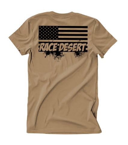 Mens Desert Nation T-Shirt - Tan
