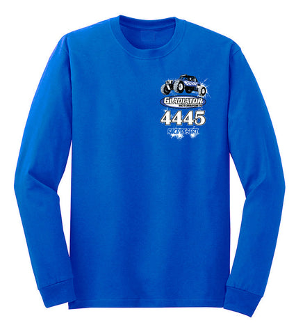 Mens Gladiator Motorsports Ultra4 Long Sleeve - Blue