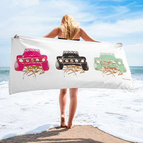 Dirty Beast Line Up - Beach Towel