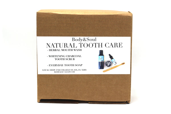 Natural Tooth Care Gift Set