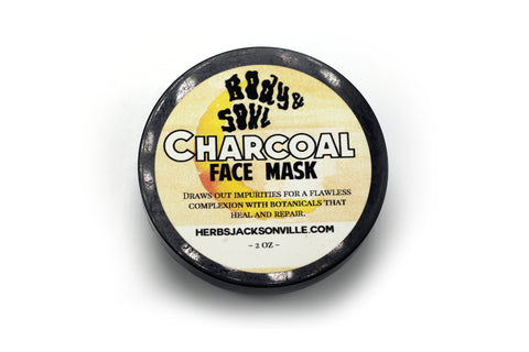 Luxury Skin Care: Charcoal Face Mask