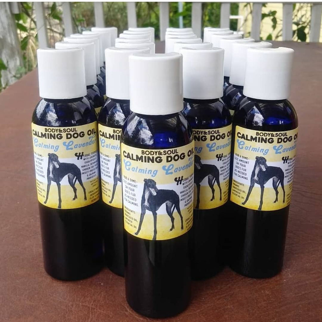 Dog Care Kit / Set : Lavender Dog Shampoo, Calming Dog Oil, Dog Toothpaste & Diatomaceous Earth