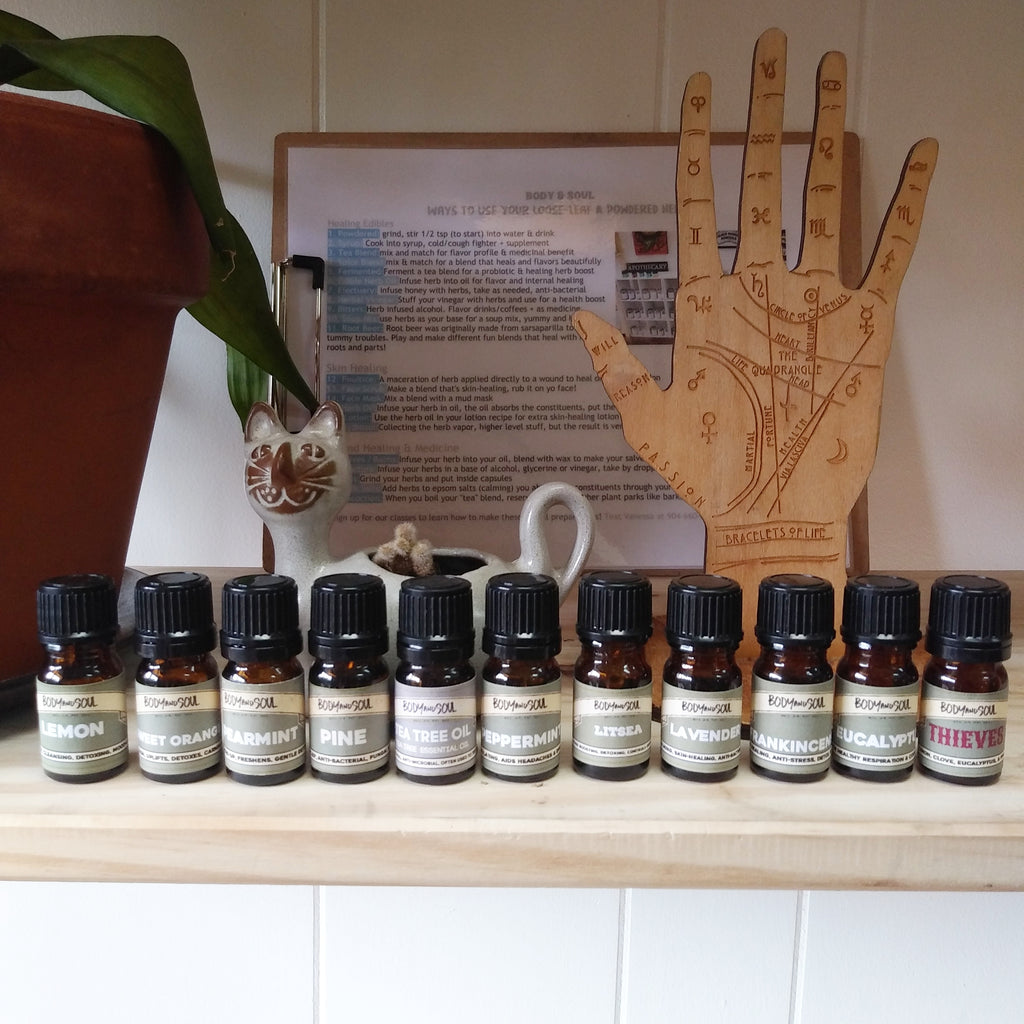 Essential Oils Set of all 10