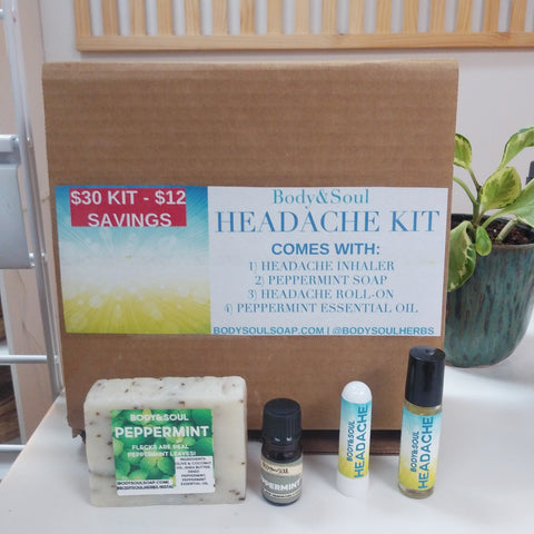 Headache Kit - $30 Aromatherapy Set