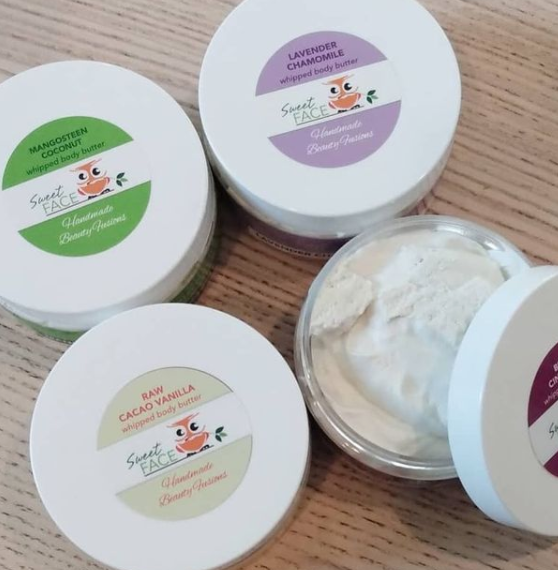 Sweet Face Whipped Shea Butter Body Butters