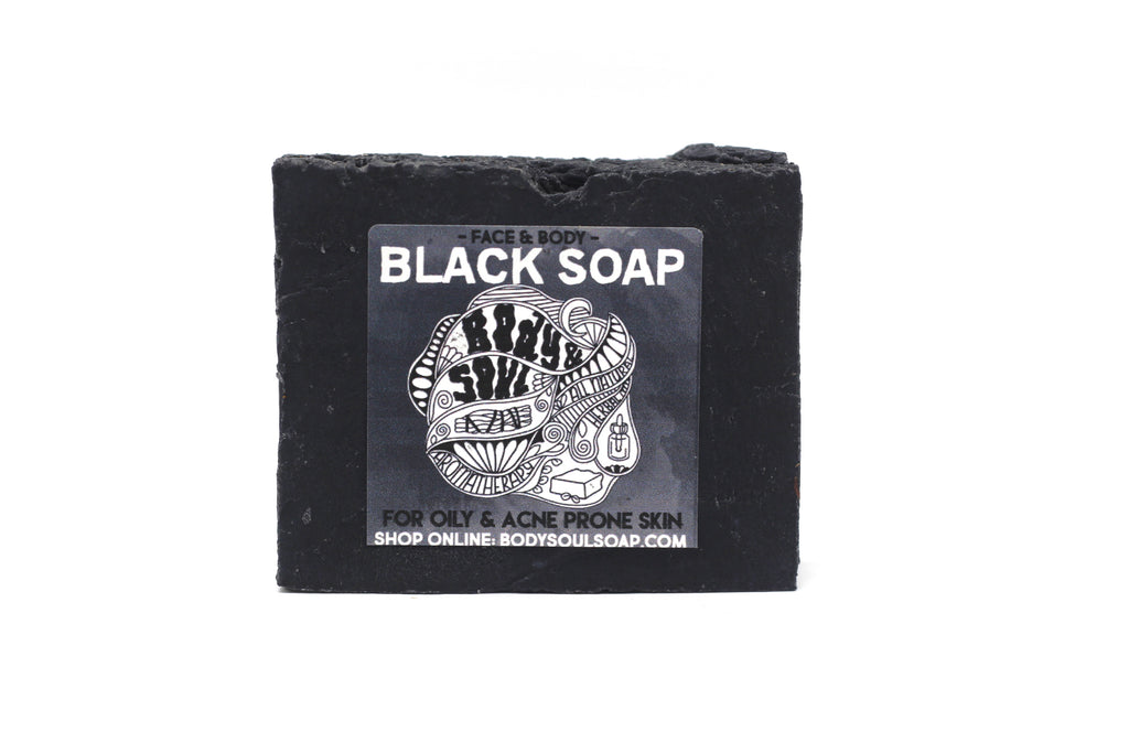 Black Soap: Locally Made Charcoal Black Soap for Oily and Acne-Prone Skin