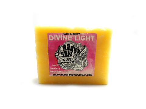 Divine Light: Anti-Anxiety Aromatherapy Soap