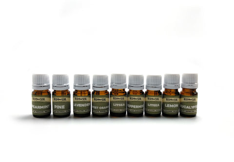 Essential Oil Set: A Collection of 8 of Our Signature Essential Oils