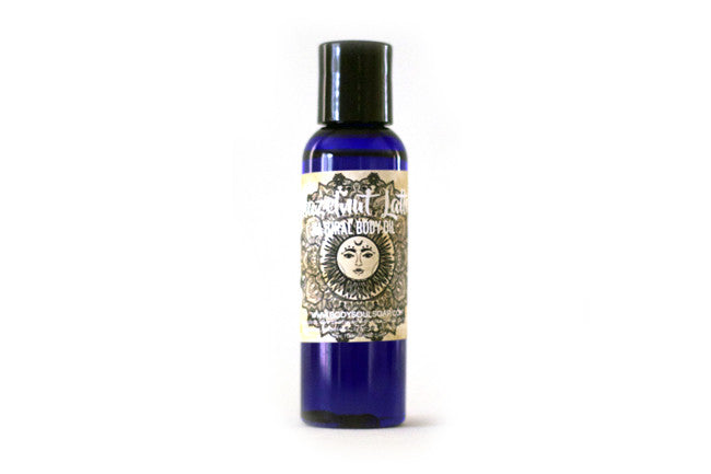 Hazelnut Latte Herbal Conditioning Body Oil