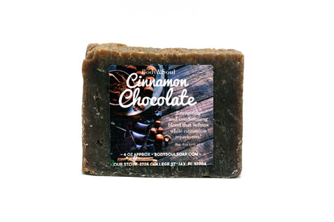 Cinnamon Chocolate Stimulating Soap Bar