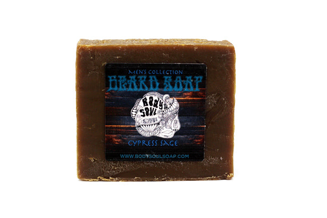 Beard Soap, Cedarwood Sage
