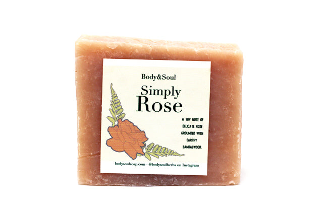 Rose Soap Bar - For Face and Body, Luxury Skin Beautifier