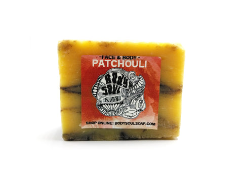 Patchouli Orange Soap Bar
