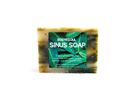 Sinus Soap Bar - For Clearing Congestion, For Eucalyptus Lovers