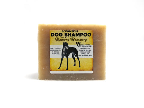 Rosemary Dog Shampoo Bar
