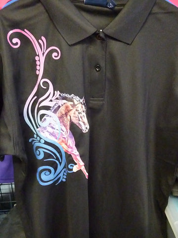 Black ladies size 18 polo