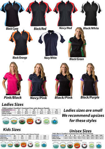 HDINF polo shirt choose colour & size