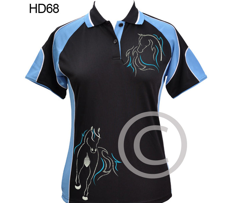 HD68 polo shirt choose colour & size