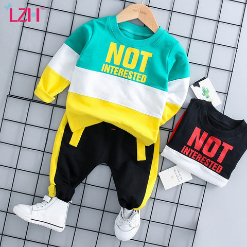 Infant Clothing For Baby Girls Clothes Set 2021 Autumn Spring Newborn Baby Boys Clothes T-shirt+Pant 2pcs Suit Baby Costume