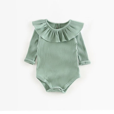 Baby Girl Boy Rompers 0-2Y Spring Newborn Baby Clothes For Girls Long Sleeve Baby Jumpsuit Summer Baby Girls Outfits Clothes