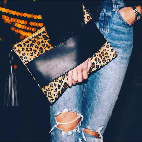 Leopard Clutch - Boot Lovers