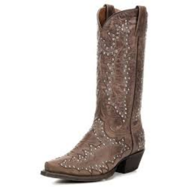 American Rebel Stella Distressed brown- SZ 8.5, New in Box, Clearance - Boot Lovers