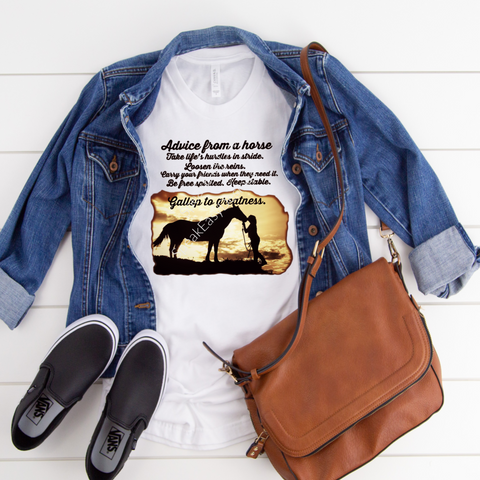 Horse Advice T-shirt