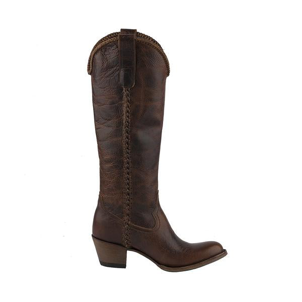 Plain Jane in Cognac from Lane Boot Co. Style #LB0350I - Boot Lovers