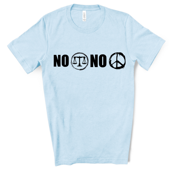 No Justice No Peace Graphic T-Shirt