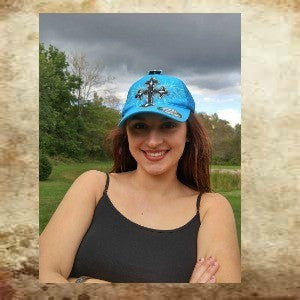 Blazin Roxx baseball cap with wings and cross embellishment - Boot Lovers